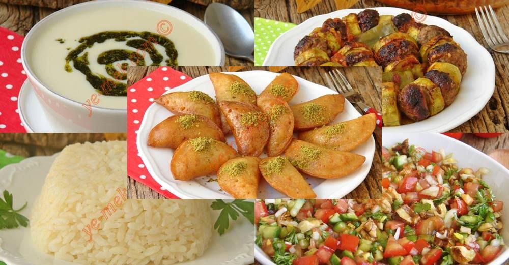 18 ° giorno Ramadan Menu | Ricette di foto e video