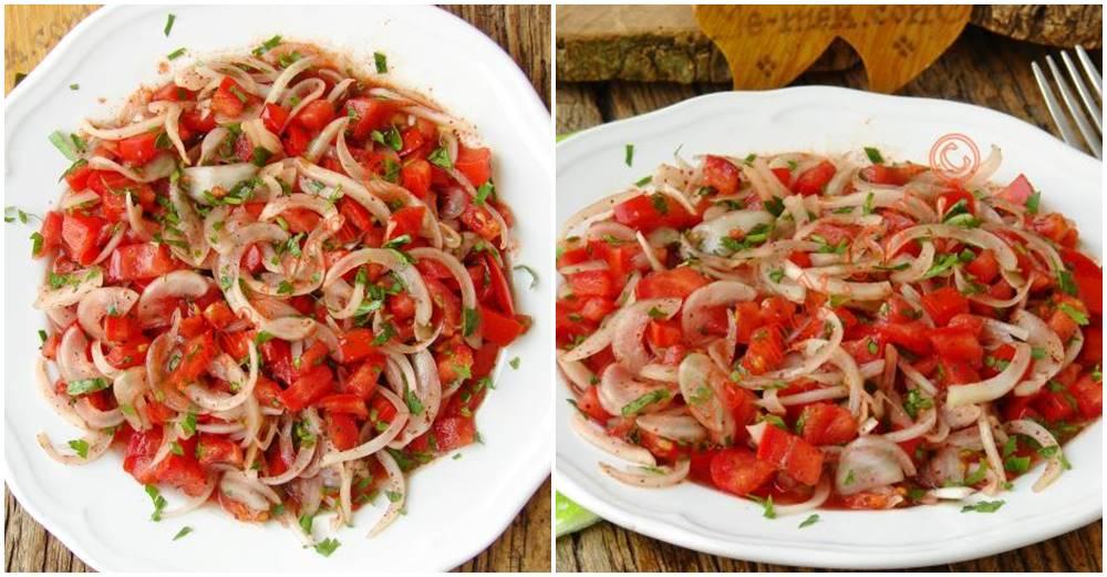Tablacı Salatası Tarifi, Nasıl Yapılır? (Resimli)